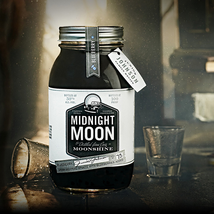 Midnight Moon Moonshine Blueberry