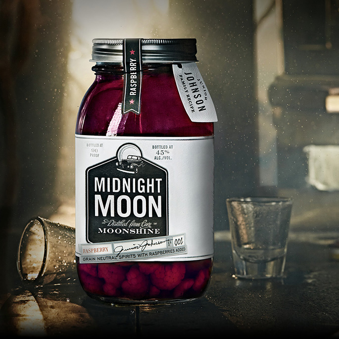 Midnight Moon Moonshine Raspberry