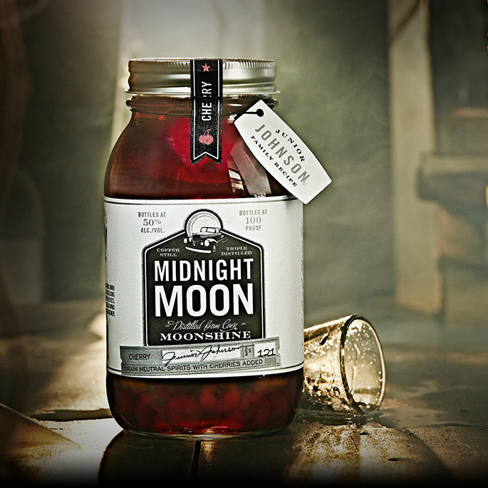 Midnight Moon Moonshine Cherry