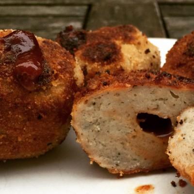 Fingerfood: Bratwurst-BBQ-Balls