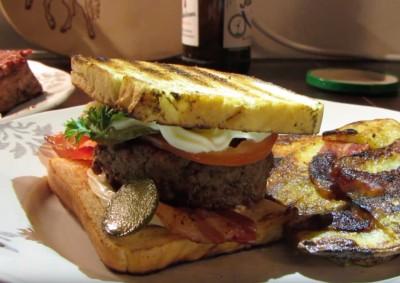 Fluffy Burger