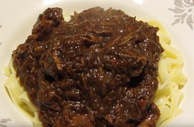 Schwarzbier Rindfleisch aus dem Dutch Oven
