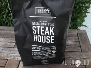 Im Test: Weber Steakhouse Grillkohle