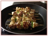 White Blackforest Chicken Kabobs