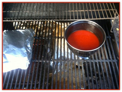 Wodka BBQ-Sauce
